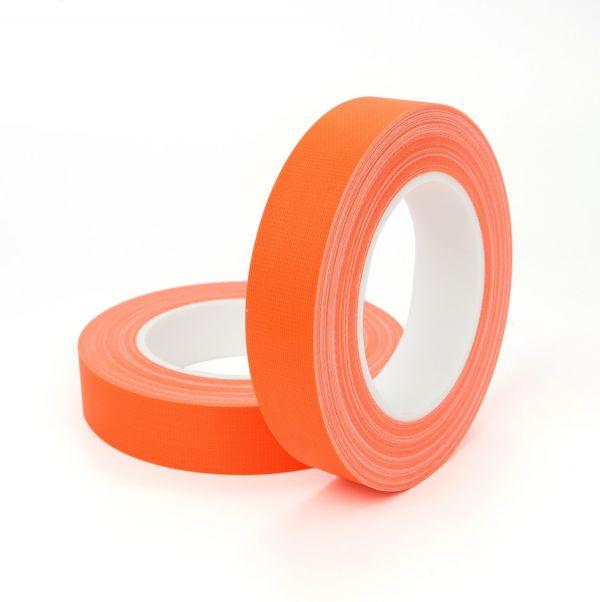 Армированный флуорисцентный матовый скотч FLUO TAPE оранжевый