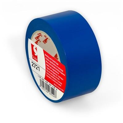 СИНЯЯ клейкая лента для разметки пола, маркировки, цветного кодирования Scapa 2721