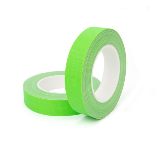 FLUO TAPE - армированная флюорисцентная лента для маркировки - зеленая (салатовая) НРХ