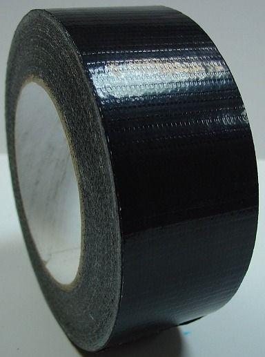 Ремонтный сантехнический армированный скотч, черный