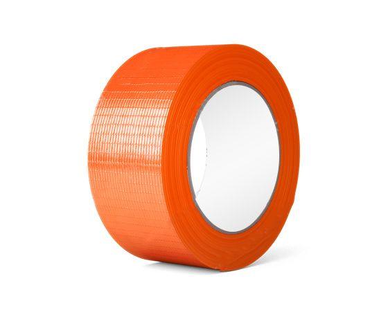 Оранжевая Армированная Лента (Скотч)