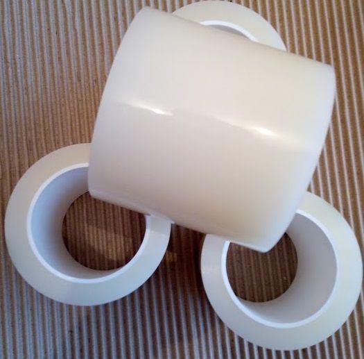 Прозрачная клейкая лента (скотч) для ремонта тепличной пленки, стекла, пластика