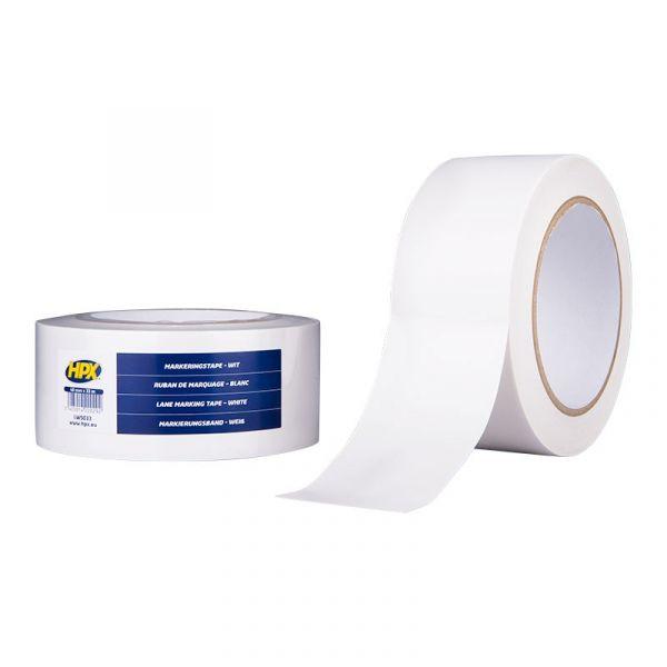 БЕЛАЯ клейкая лента на основе ПВХ для напольной разметки и маркировки НРХ LW5033
