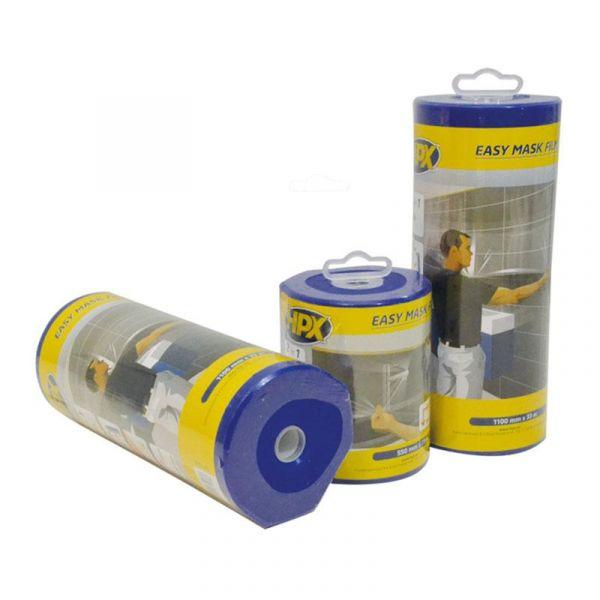 Защитная пленка для ремонта с малярной лентой в диспенсере