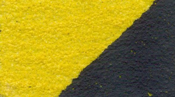Формуемая противоскользящая лента грубой зернистости safety-grip на алюминиевой основе, Желто-Черная