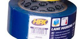 СИНЯЯ клейкая лента на основе ПВХ для напольной разметки и маркировки НРХ LB5033