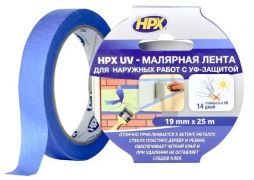 Малярная лента UV (малярный скотч) для наружных работ
