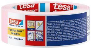 Малярная лента (малярный скотч) для деликатных поверхностей Tesa 4333
