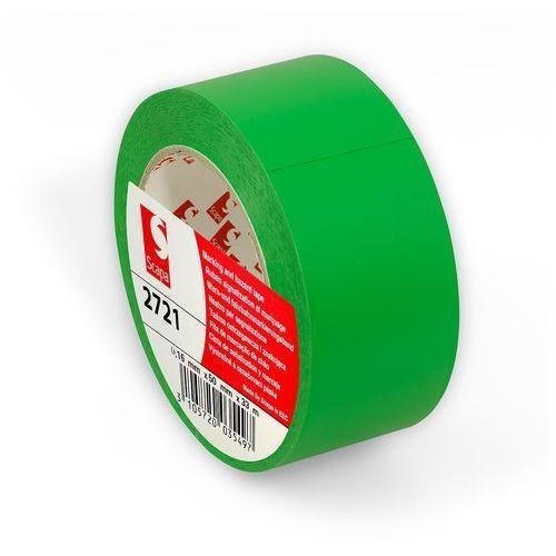 ЗЕЛЕНАЯ клейкая лента для разметки пола, маркировки, цветного кодирования Scapa 2721