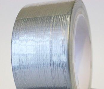 Универсальная армированная ремонтная лента скотч, серый