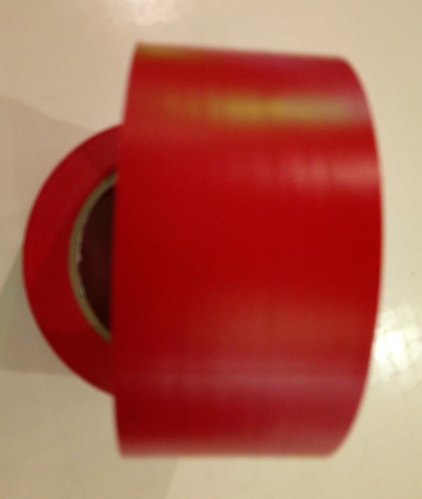 КРАСНЫЙ разметочный скотч TESA 60760 для напольной разметки и маркировки