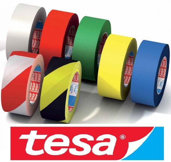 БЕЛЫЙ разметочный скотч TESA 60760 для напольной разметки и маркировки